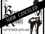 SEPTEMBER 20th – SHOW CANCELED!!